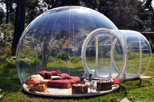 Dormir dans une bulle : pour un séjour hors du commun