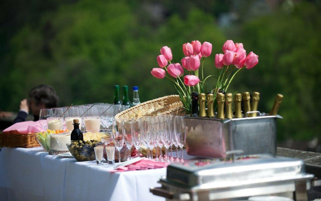 Des délicats et élégants plats, à l'honneur de votre événement