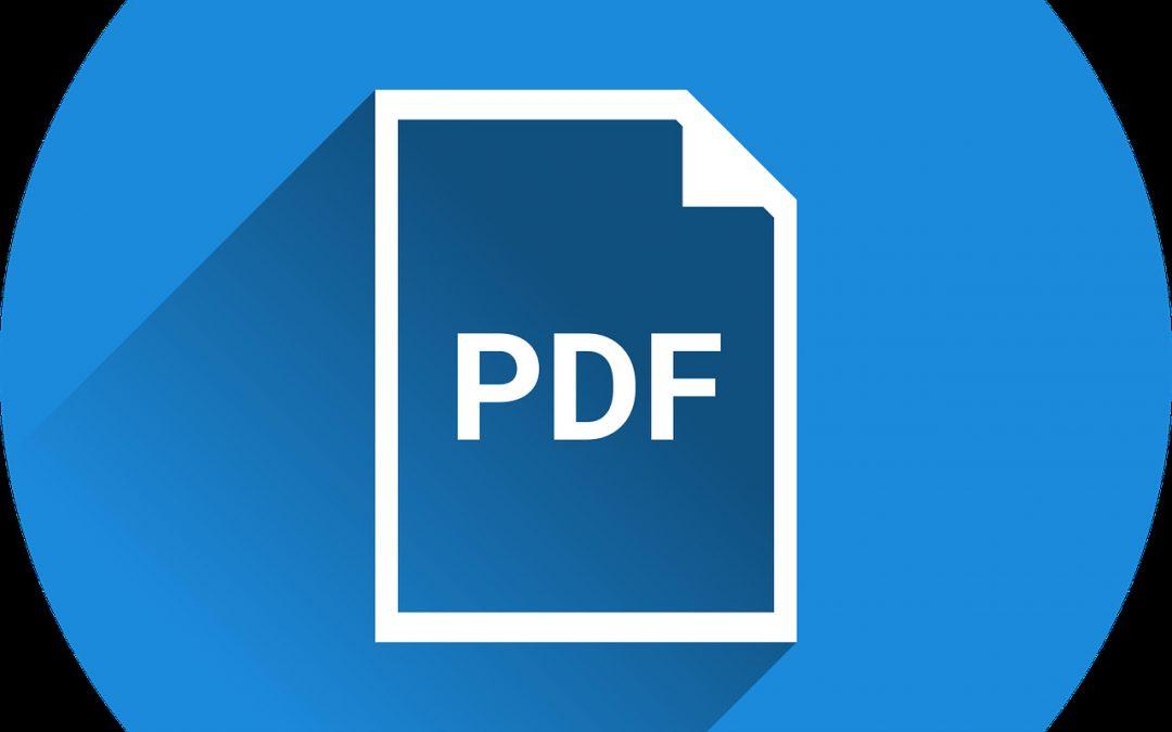 Activité d'annotation PDF